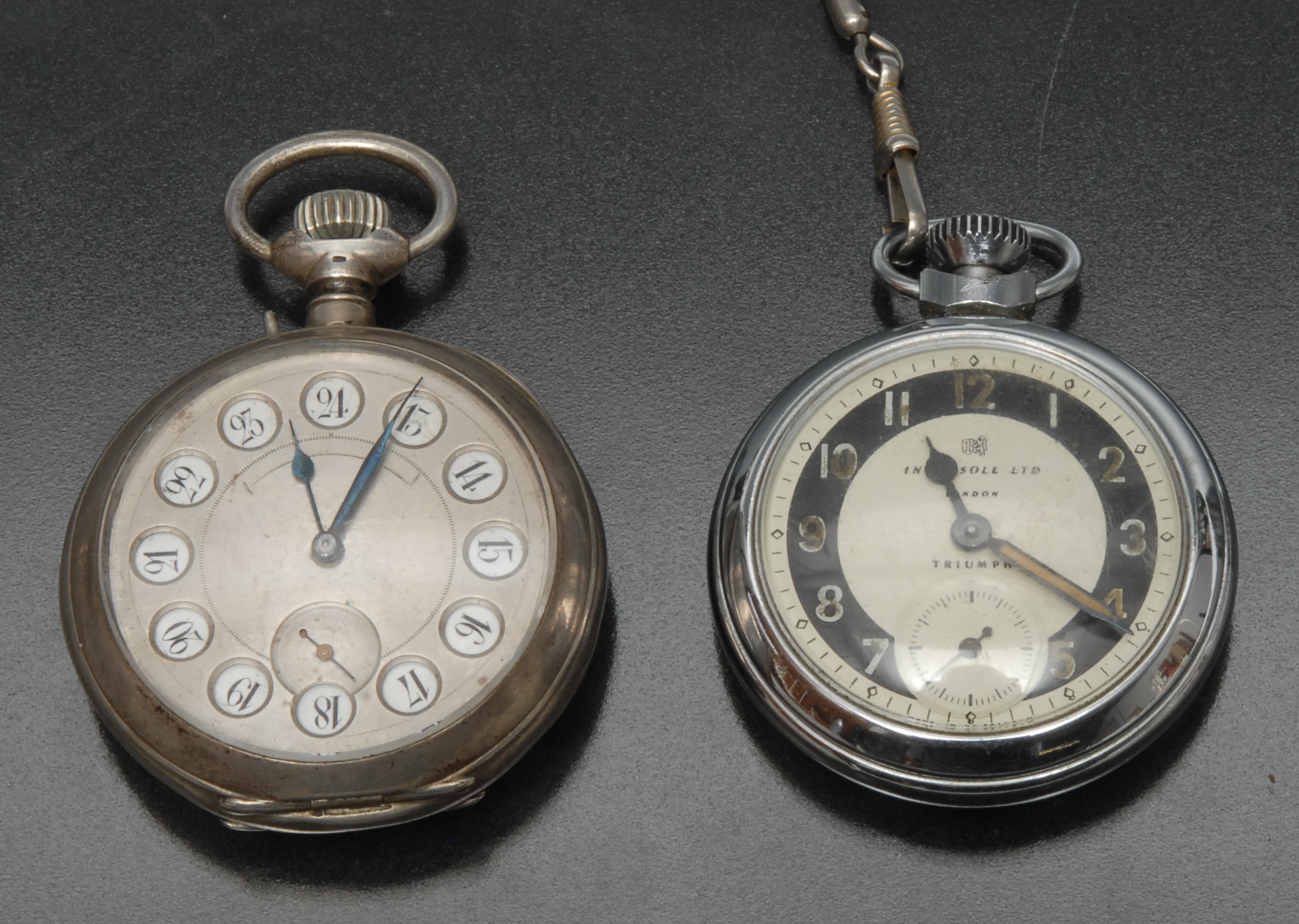 Lot 3003 - Watches - An unusual continental silver pocket watch, stamped 800,