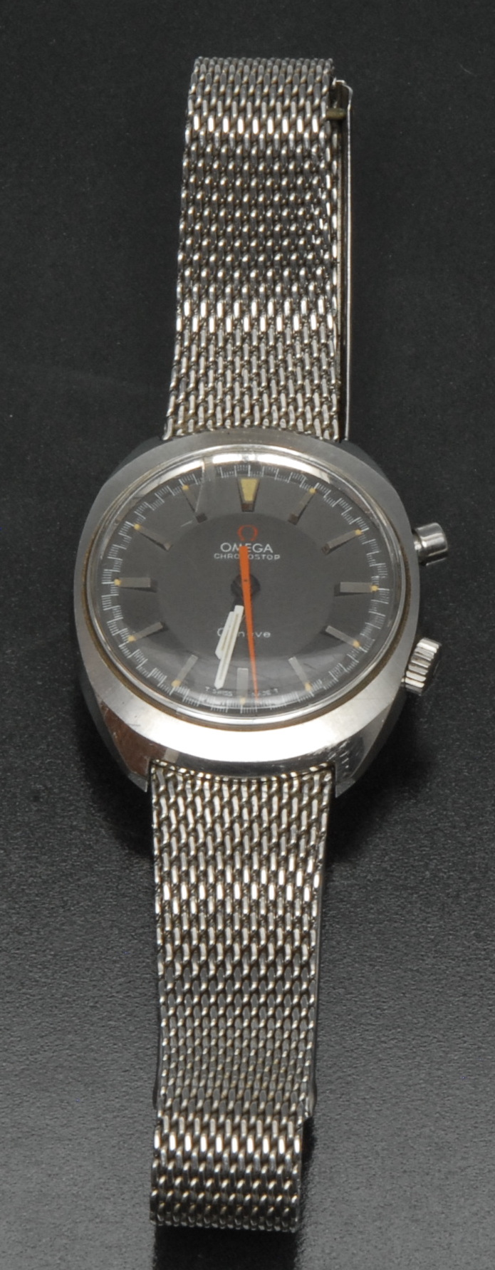 Lot 3014 - Omega - a vintage 1960s Chronostop wristwatch. Ref 145.