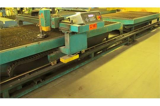 lockformer vulcan 2900 cnc plasma cutting table s n vul3710 ci rh bidspotter com