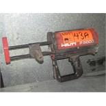 HILTI P5000 PNEUMATIC CAULKING GUN