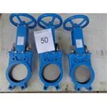 3 X Valvulas type 200 150mm gate valves