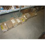 (Lot) Assorted parts, including Atlas Copco pump, Komatsu A/C controllers, Komatsu contactor, comp