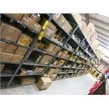 (Lot) Assorted parts including dryers, belts, wiper motors, shovel fans, compressors, horns, wiring