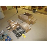 (Lot) GE, Coyote, Tycos Assorted Electrical Parts including differential relays type HDD, Tyco