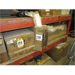 (Lot) Assorted Parts (including Komatsu), A/C Condensor, Exhaust Blanket, Mirro