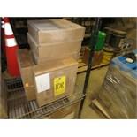 (Lot) [12] ITT -Goulds Pump Parts (8) impellers, SA w/TFL rings, 5 vane plus (3) cov-st-box SA big