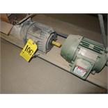 (Lot) [4] Electric Motors including (2) 1hp (2) Dayton wall shutter motors 4C885B-100-240v [