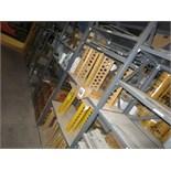 (Lot) Assorted parts (including Komatsu, Cummins), idlers, alternators, ladders, fuel gauges, mirro