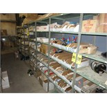 (Lot)Assorted parts (including Komatsu and Atlas Copco), fittings, o rings, connectors, adapters,