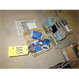 (Lot) Flow Controllers including Foxboro I/A series -1GP10-A22DIF pressure transmitters, Fisher