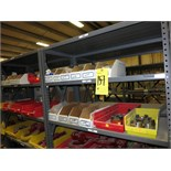 (Lot) Assorted parts including Char-Lynn model 101-2473, 101-2474, 104-3008, and 104-3530 motors,