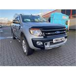 Ford Ranger Wildtrak 4 x 4 3.2 TDCI 6 Speed Automatic Double Cab Pick Up Truck, Silver