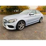 (RESERVE MET)Mercedes C220d AMG Line 9G-Tronic Semi Auto - 2017 17 Reg - 1 Keeper From New -