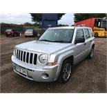 JEEP PATRIOT SPORT 2.0 CRD 2009 - 09 REG - METALLIC SILVER