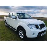 Nissan Navara Acentra 2.5 DCI - 2012 Model - Diamond White - 1 Keeper From New - Tow Bar