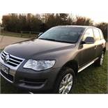 (RESERVE MET) Volkswagen Touareg 3.0 V6 TDI SE Special Equipment Auto - 2007 07 Reg - Full Leather