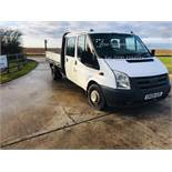 Ford Transit 2.4 T350L Double Cab Drop Side - 2009 09 Reg - LWB - Tow Bar