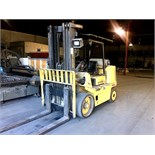 2000 Hyster XL2 155, Space Saver Forklift, 15,000 lbs. Capcity, 5,031 Hours, 3-Stage,