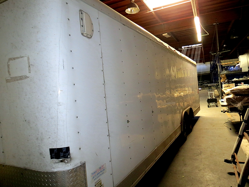 Lot 3 - 2010 Interstate Kingman 24' Auto Transport Box Trailer, Tandem Axle, Bumper Pull Hitch, Model: