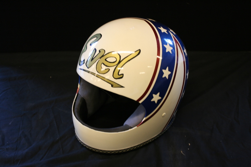 Evel Knievel Replica Helmet An Evel Knievel Full Sized