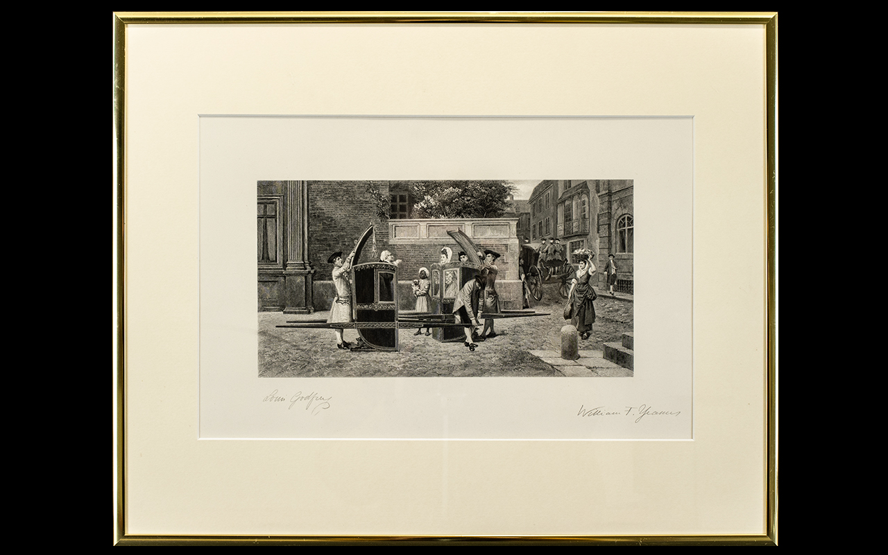 Lot 982 - Framed Engraving After The Painting 'The