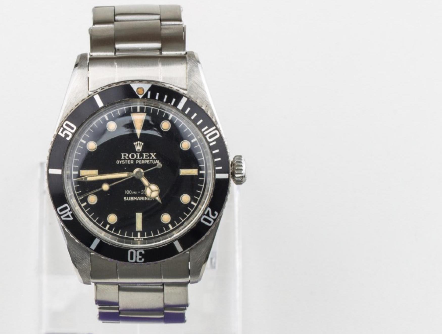 Lot 23 - RARE, Rolex Submariner 5508