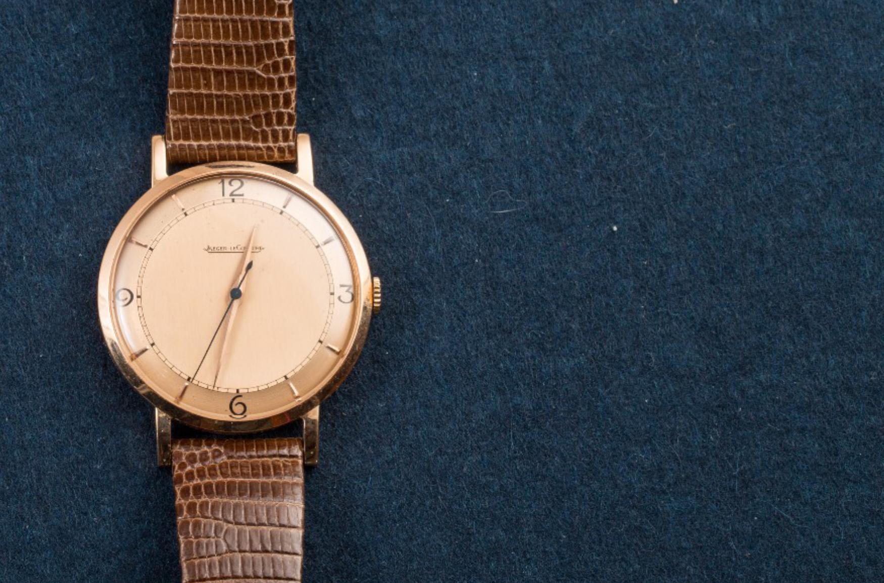 Lot 10 - JAEGER LE COULTRE, Vintage automatic watch