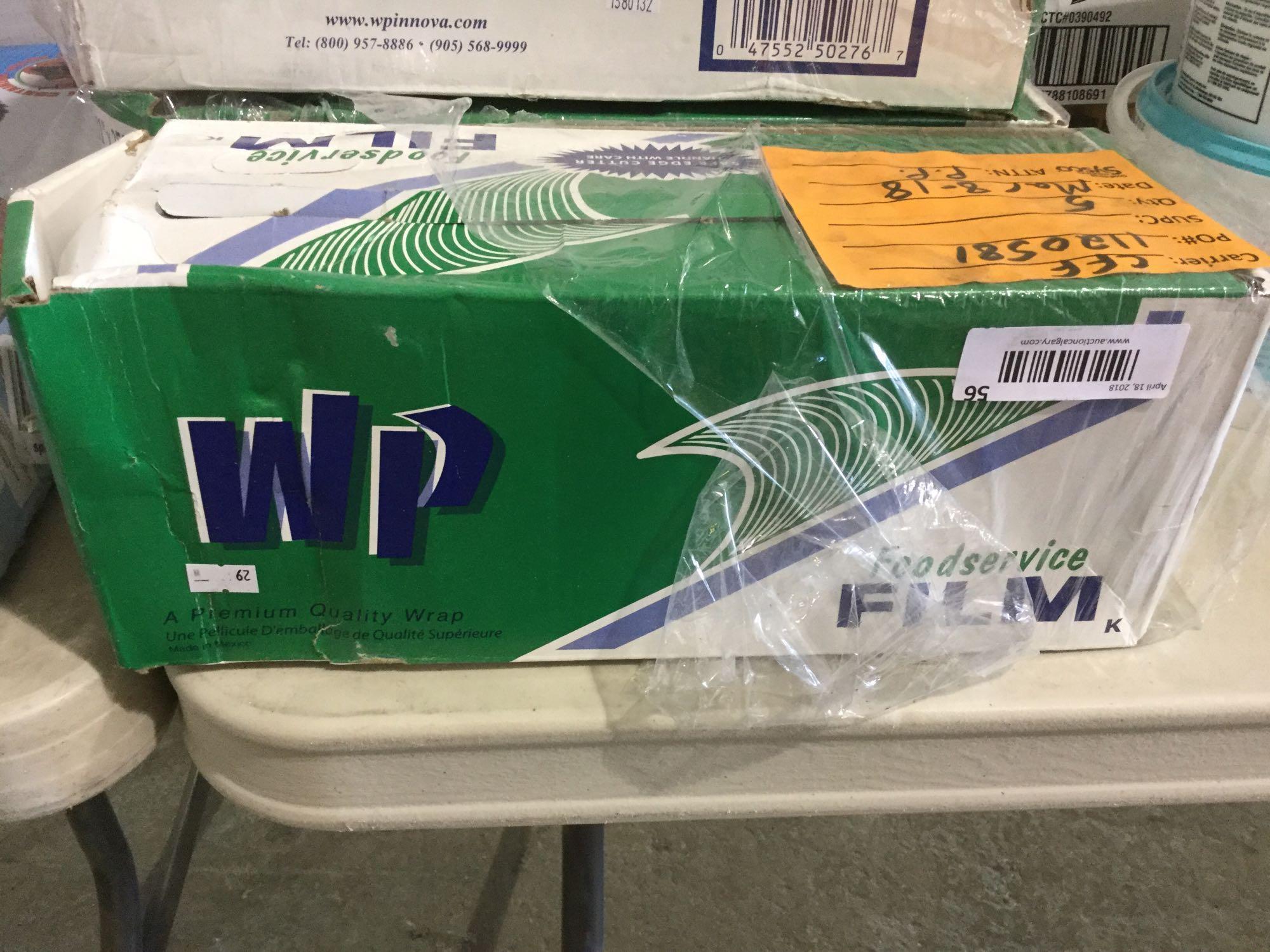 "Lot 56 - WP Foodservice Film 11"" x 2500"" - Premium Quality Wrap"