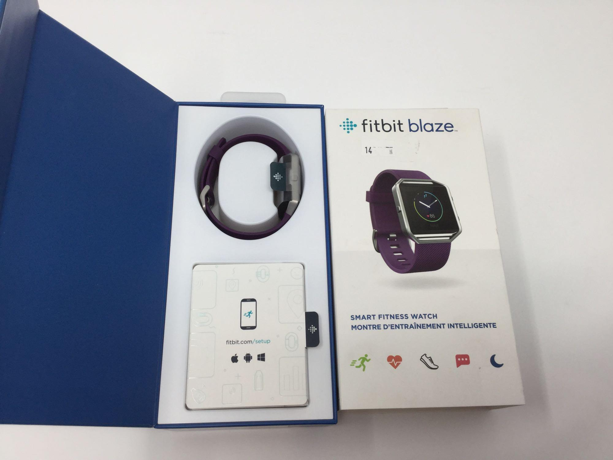 Lot 10 - FitBit Blaze Smart Fitness Watch