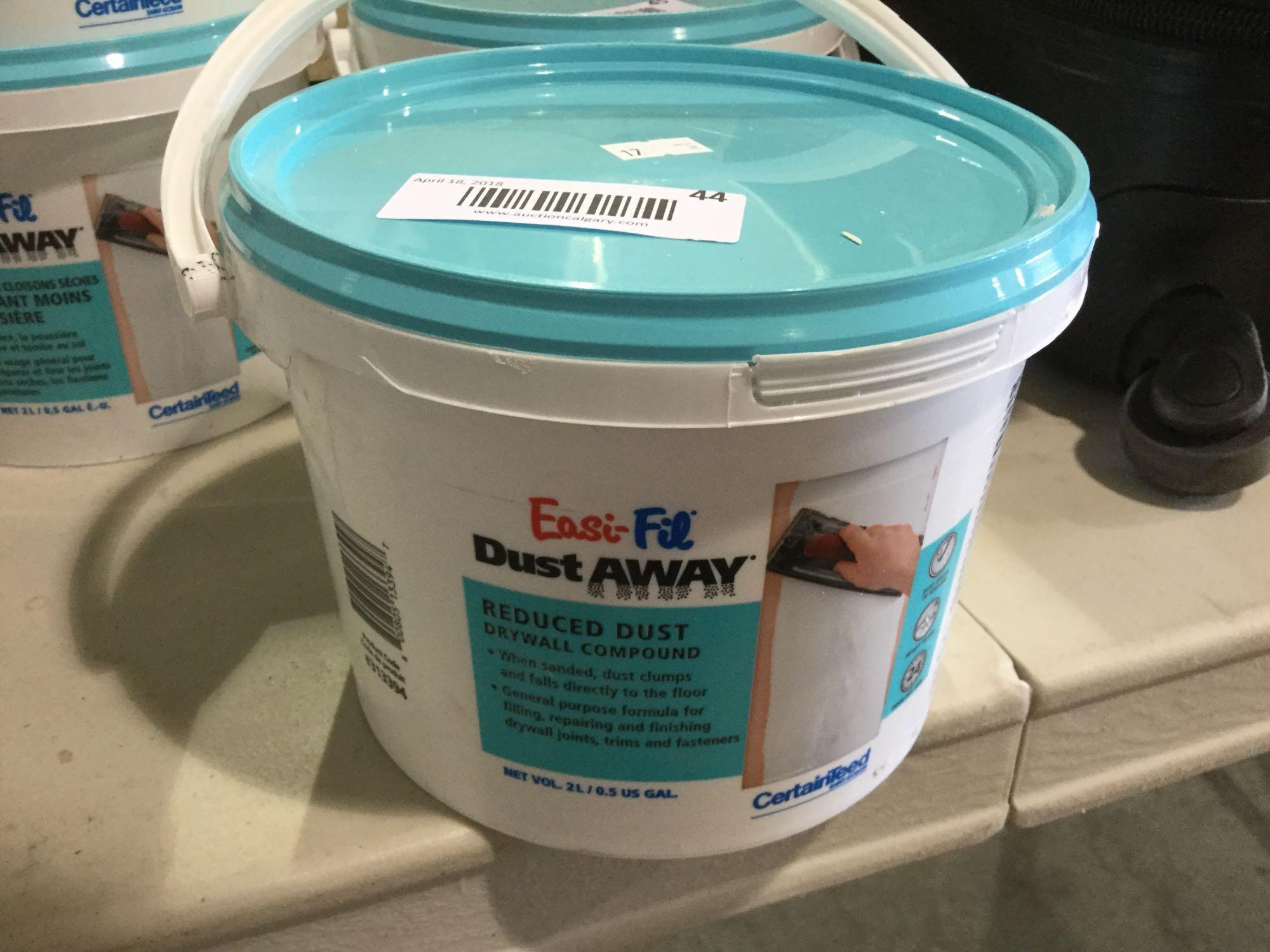 Lot 46 - Easy-fil - Dust away - Dust reduced Drywall Compound