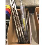 (LOT) ASSORTED HAMMER DRILL BITS