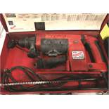MILWAUKEE 1 1/2'' THUNDER MAX HAMMER DRILL S/N 888C199330265, AMPS- 8.5, RPM- 550.