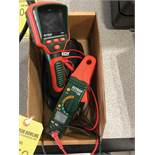 EXTECH AC/DC CLAMP METER AND EXTECH DRAIN CAMERA