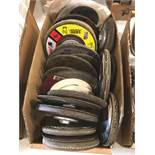 (LOT) ASSORTED GRINDING WHEELS