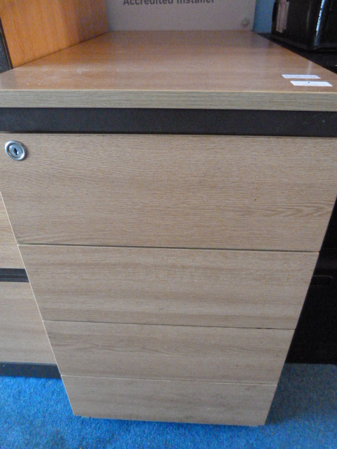 Lot 7 - *Office Unit with Four Drawer