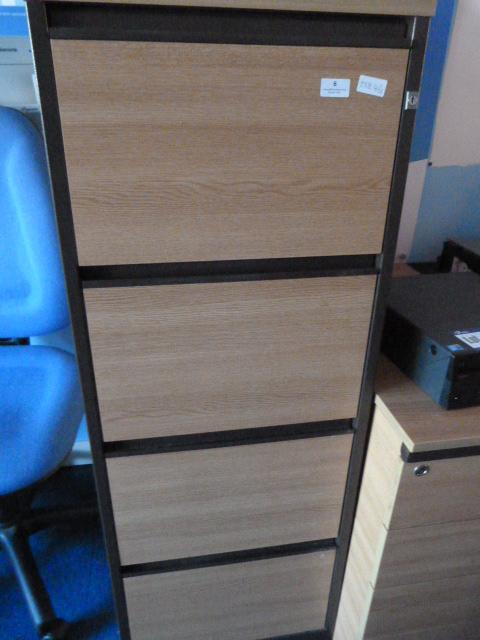 Lot 6 - *Four Drawer Filing Cabinet (No Key)