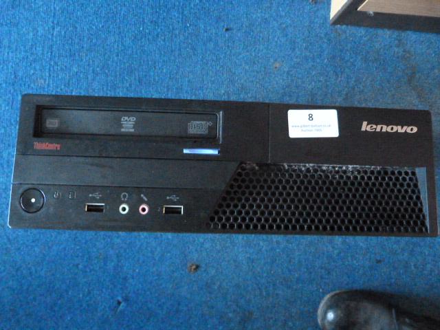 Lot 8 - *Lenovo Thinkcentre Computer Model:CTO-7303