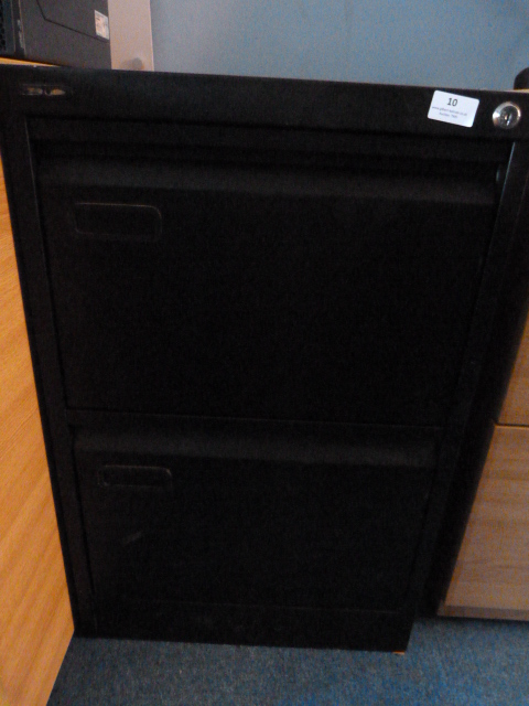 Lot 10 - *Two Drawer Filing Cabinet (No Key)