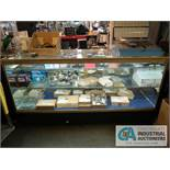"72"" X 22"" X 29"" LIGHTED GLASS DISPLAY CABINET"