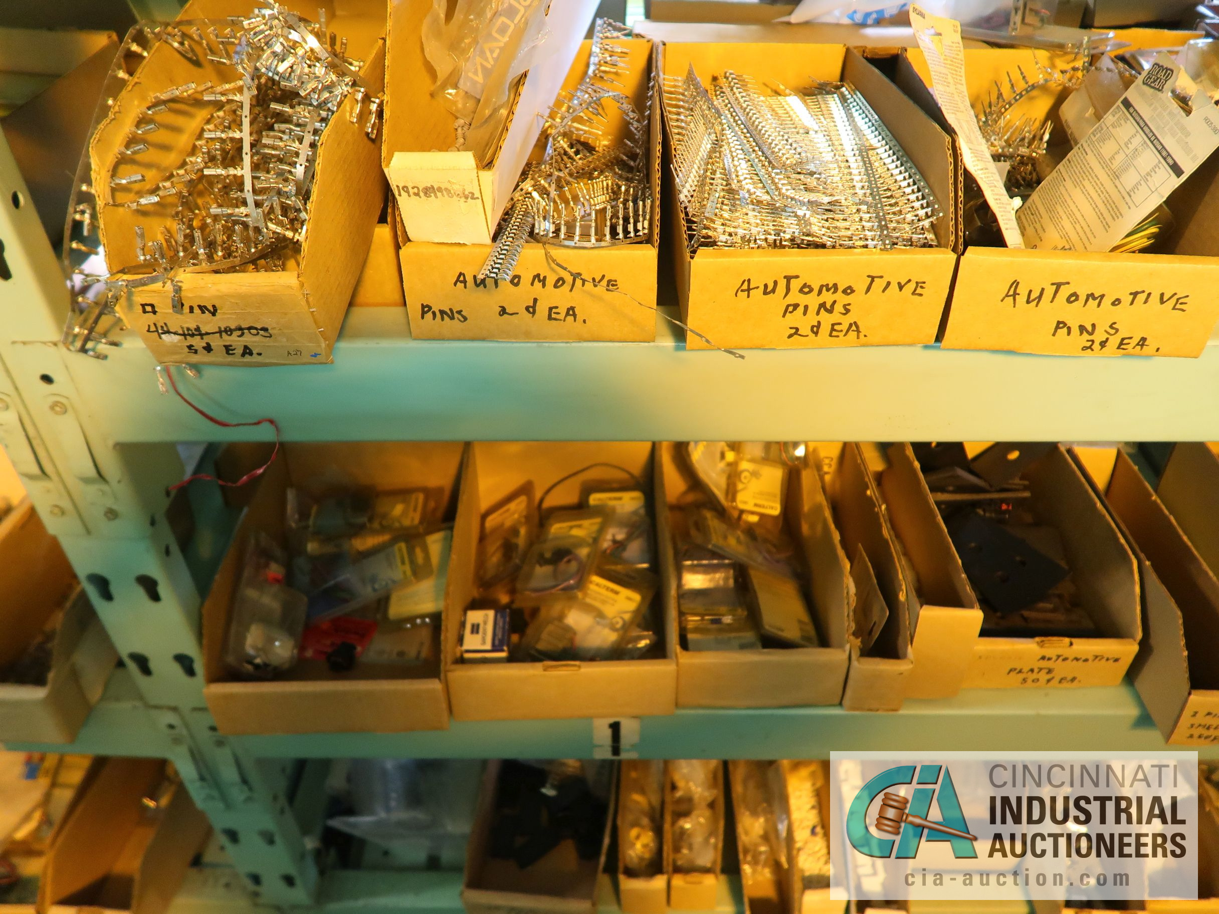 CONTENTS OF (5) RACKS INCLUDING MISCELLANEOUS AUTOMOTIVE PARTS, LIGHTS, FILTERS, ENGINE PARTS, RIMS, - Image 13 of 29