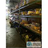CONTENTS (5) RACKS INCLUDING MISCELLANEOUS FUSES **NO RACKS**