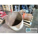 "(LOT) CONCRETE CORE DRILLS - (1) AT 22"", (1) AT 13"" AND OTHER SMALLER SIZES"
