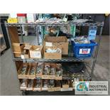 CONTENTS OF (2) RACKS INCLUDING COFERENCE SYSTEMS, SECURITY CAMERAS, WIRE, HARDWARE, CONNECTORS,