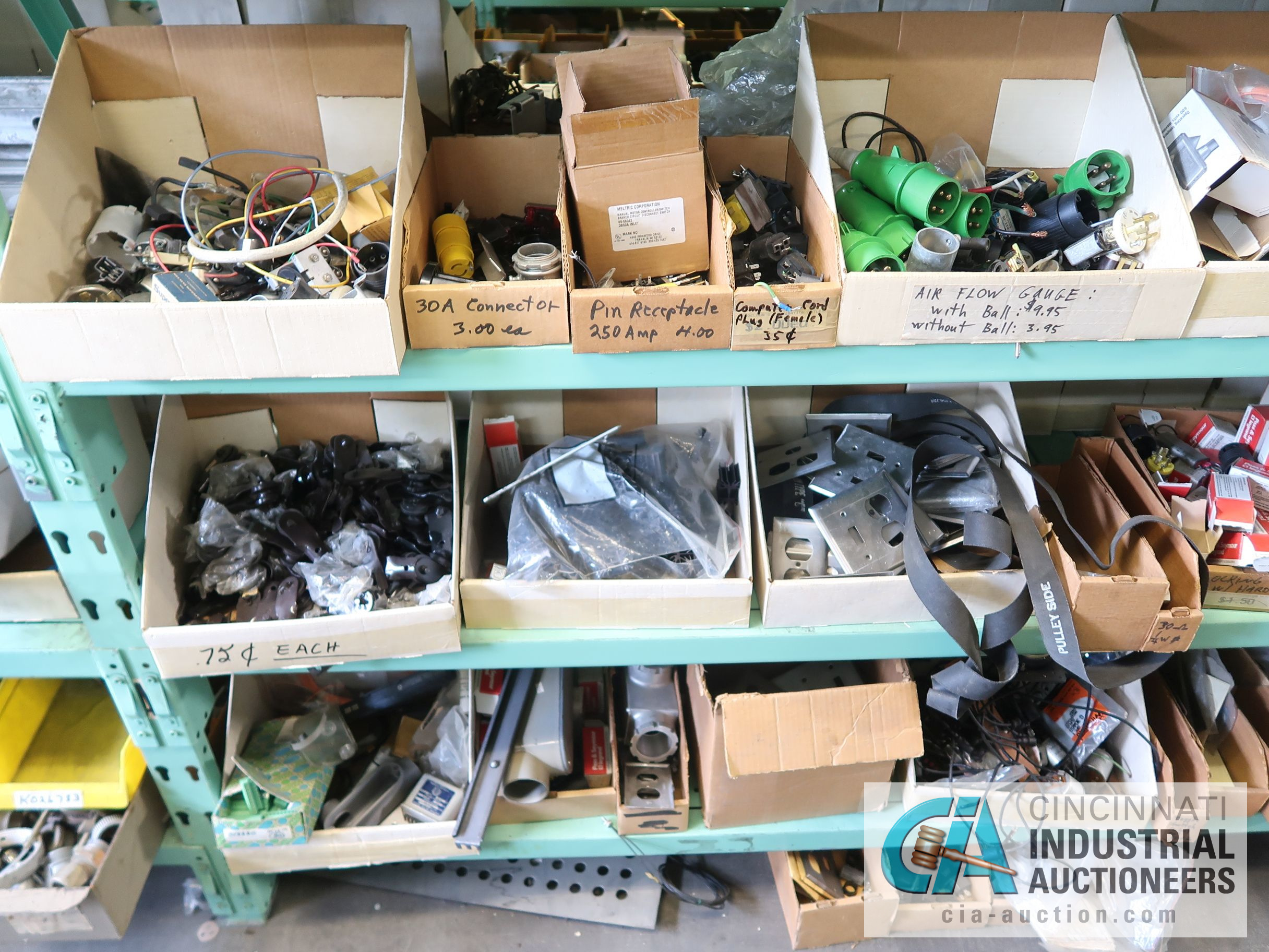 CONTENTS OF (6) RACKS INCLUDING MISCELLANEOUS AUTOMOTIVE PARTS, BREAKS, ROTORS, GASKETS, MOUNTING - Image 18 of 38