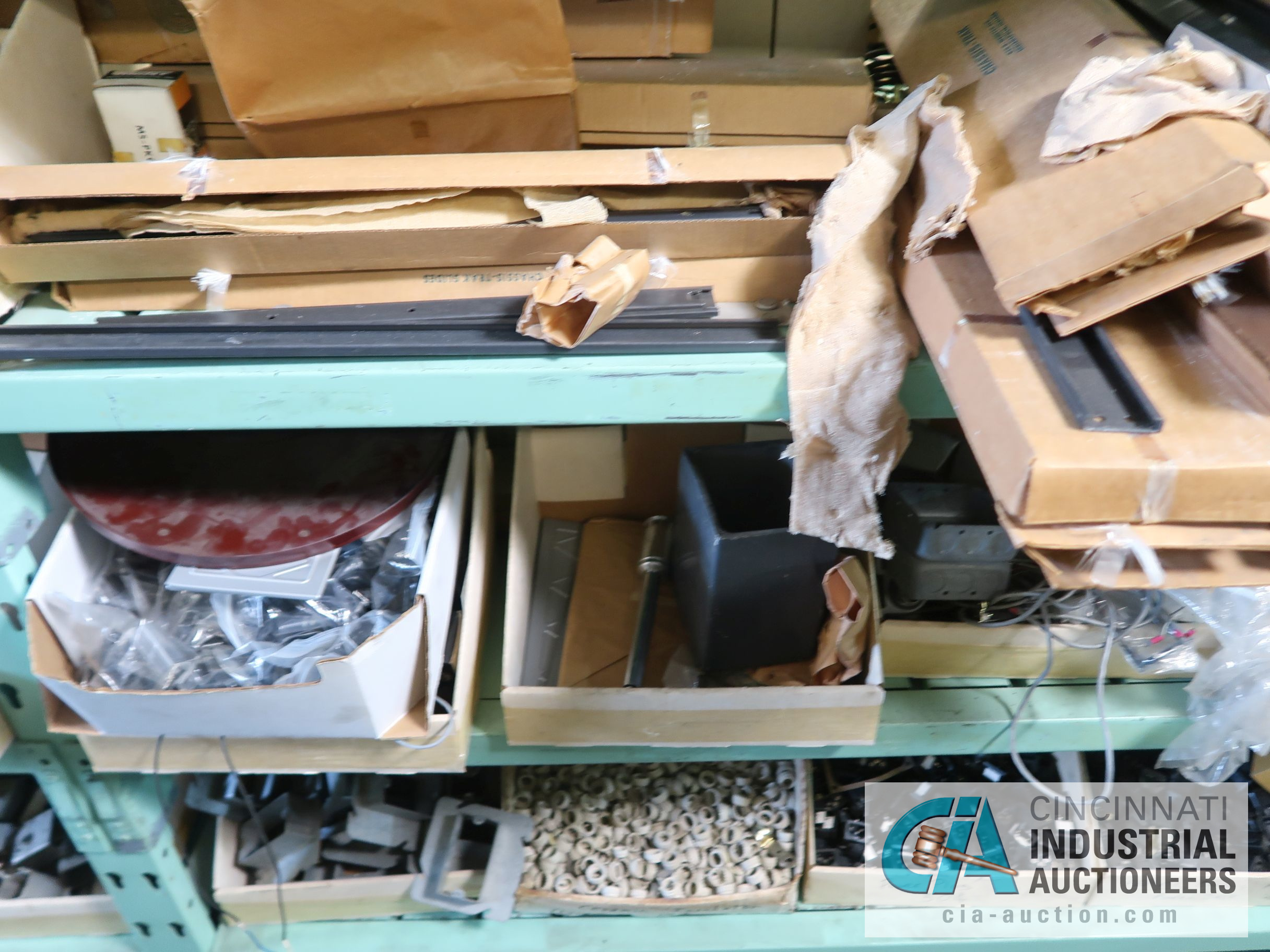CONTENTS OF (6) RACKS INCLUDING MISCELLANEOUS AUTOMOTIVE PARTS, BREAKS, ROTORS, GASKETS, MOUNTING - Image 11 of 38