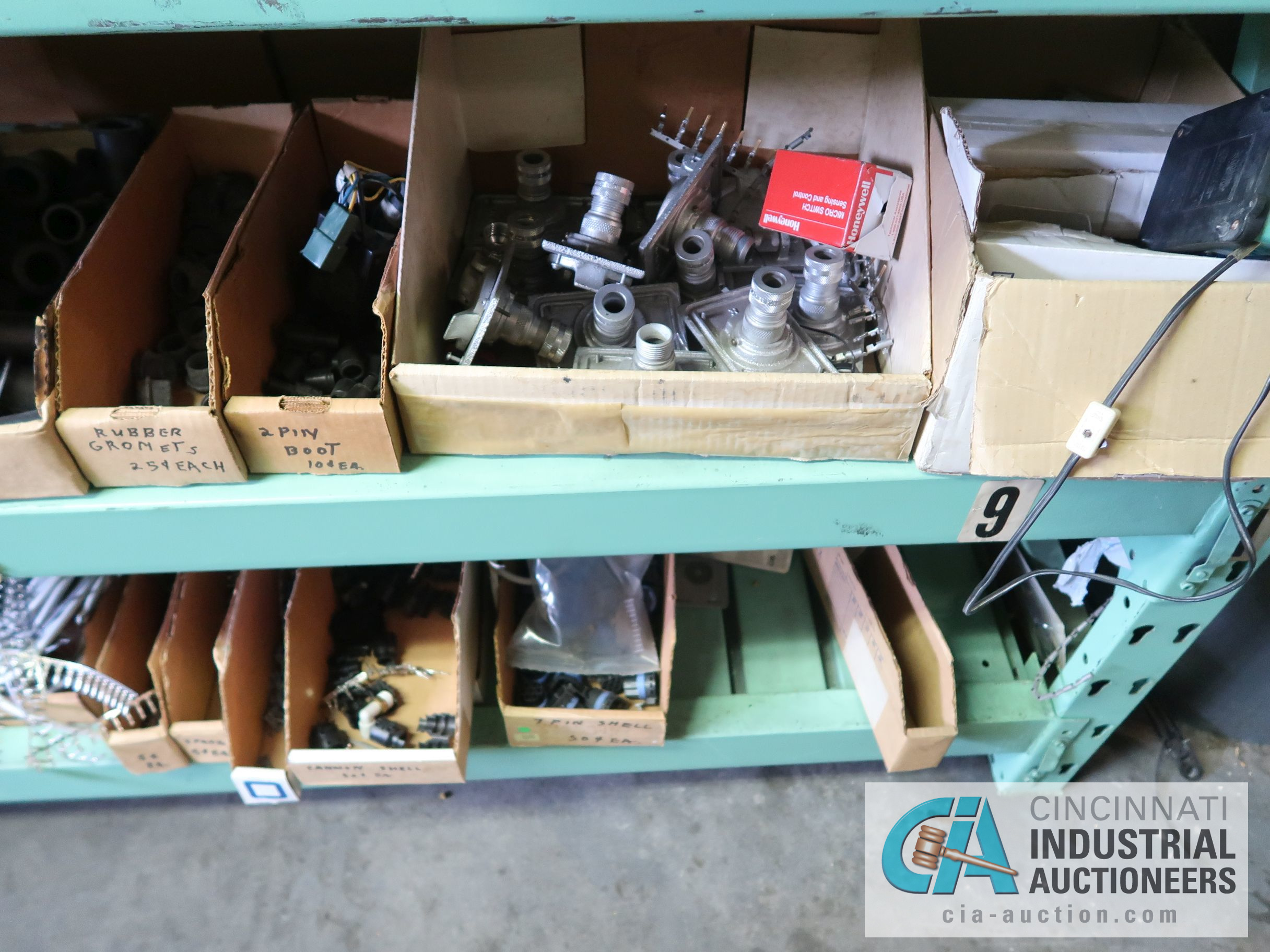 CONTENTS OF (5) RACKS INCLUDING MISCELLANEOUS AUTOMOTIVE PARTS, LIGHTS, FILTERS, ENGINE PARTS, RIMS, - Image 18 of 29
