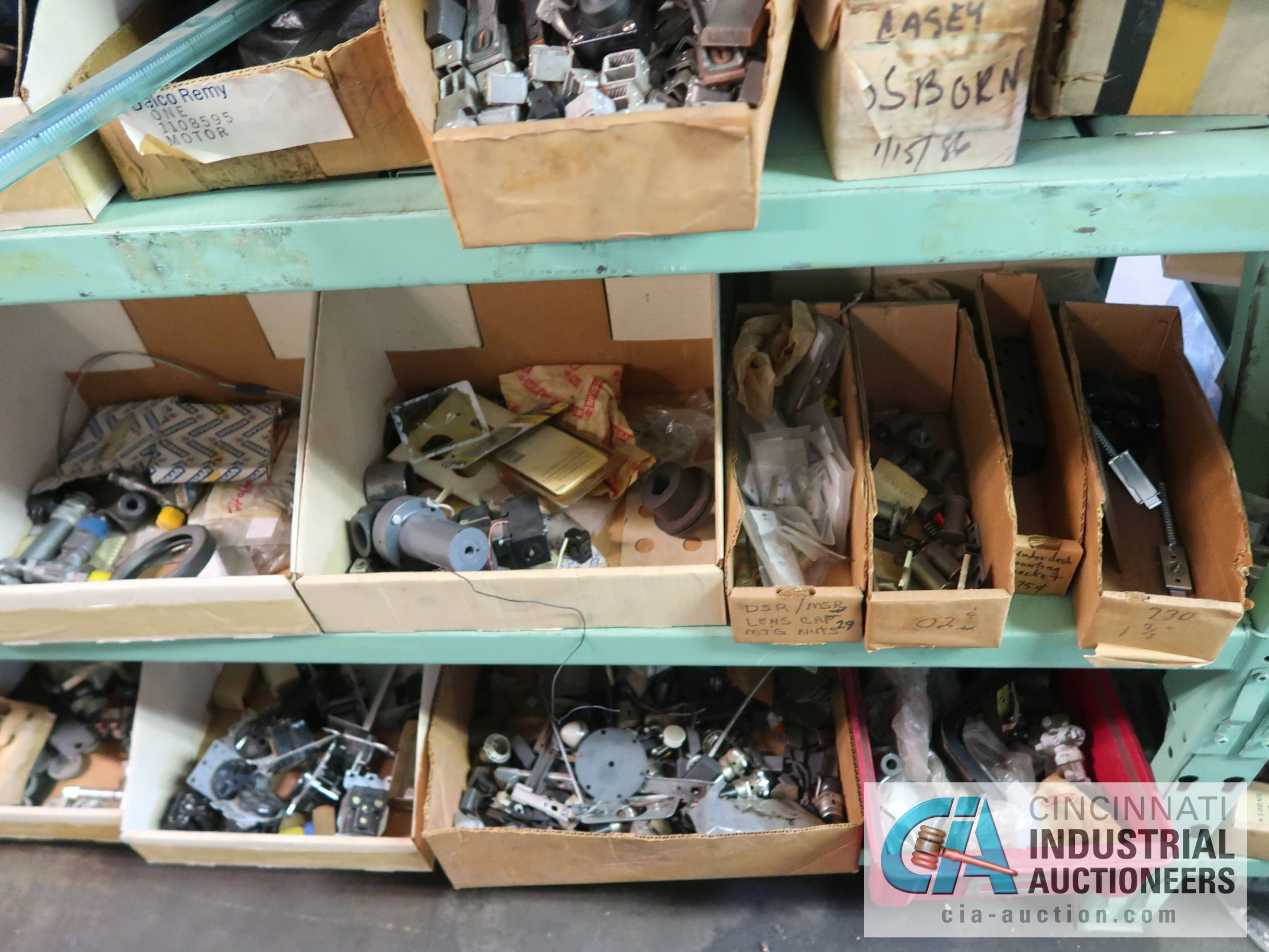 CONTENTS OF (6) RACKS INCLUDING MISCELLANEOUS AUTOMOTIVE PARTS, BREAKS, ROTORS, GASKETS, MOUNTING - Image 27 of 38