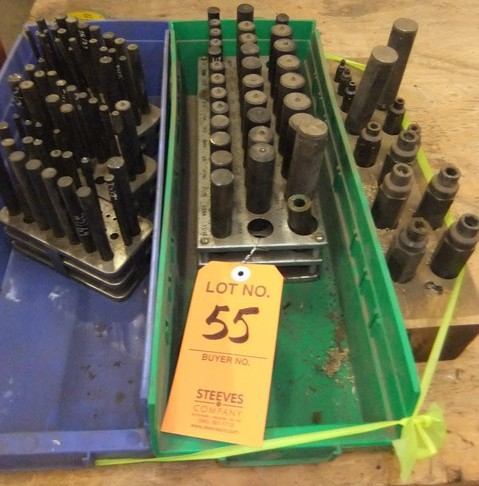 Lot 55 - LOT: CENTER PUNCHES; TRANSFER PUNCHES