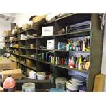 LOT: SHELVING WITH CONTENTS
