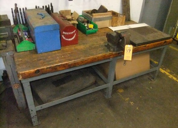 Lot 39 - LOT: TABLE W/ CONTENTS